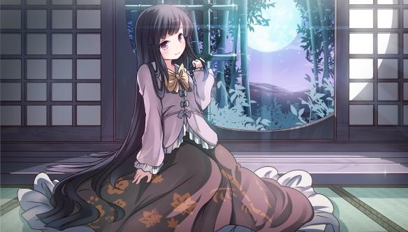 Konachan.com - 170683 houraisan_kaguya risutaru touhou