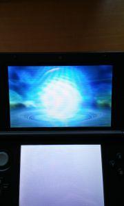 Kurz darauf entwickelte sich mein Pokemon. Es wurde zu einem leuchtend blauen Ball. Was genau passierte konnte niemand sehen.