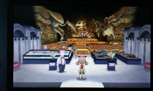 Oh...mein...Gott...was...wie...wie passt ein verfluchtes Museum mit riesigen Fossilien in dieses Haus? Die Tür muss ein Portal sein oder so...