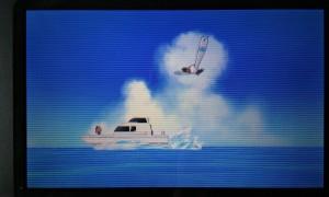 Das Boot war kein Speedboot mehr. Okay...schon...es war schnell. Aber man flitzte nicht mehr mit einer geschwindigkeit wo man keine Ahnung hatte wo man hinfuhr über die Map...nur diese lahme Sequenz.