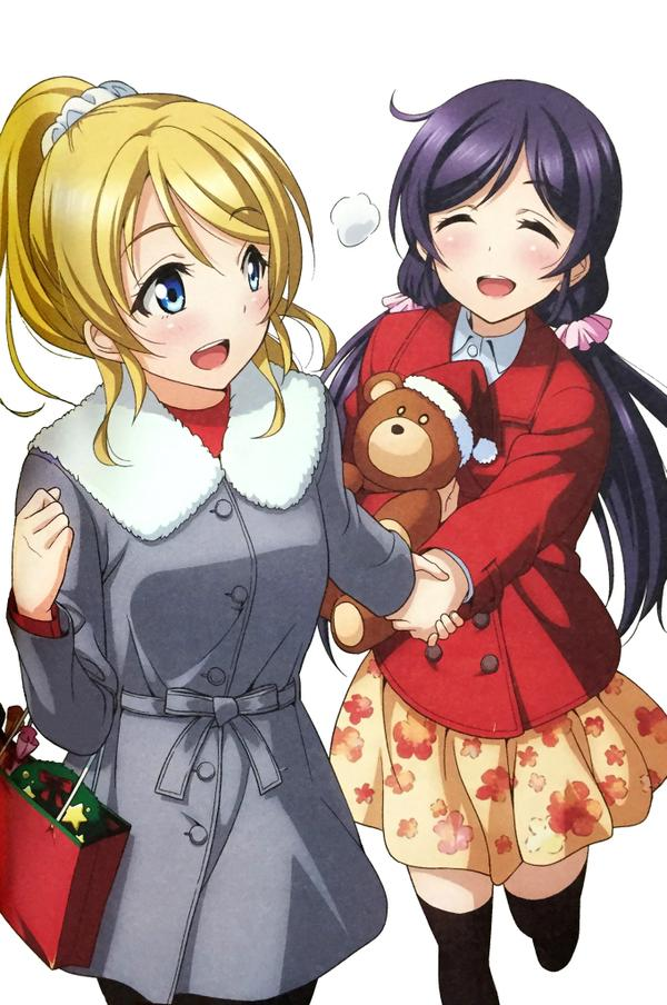 LLSID_Nozomi_Eli_μ's_Christmas_Ch_2