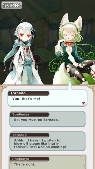 Die Story wird in kurzen Dialogen zwischen Lenya und den Magi sowie Nefaria erklärt
